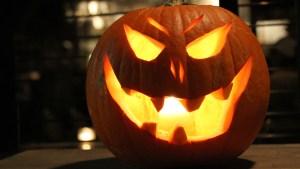 Garage Door's Toothy Halloween Get-Up Goes Viral