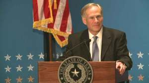 Gov. Abbott Supports Cross on Patrol Vehicles
