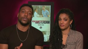 Stars of New Amsterdam, Tuesdays on NBC 5