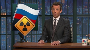 """Seth Meyers Takes A Closer Look at """"Clinton Cash"""""""