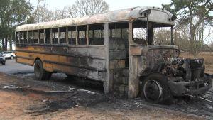 Students Escape Burning Alabama School Bus