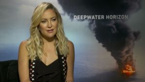 Kate Hudson on Deepwater Horizon Film