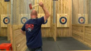 Ax Tossing Bar Gets Boost from 'The Tonight Show'