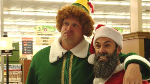Santa Foots Grocery Bills for Families