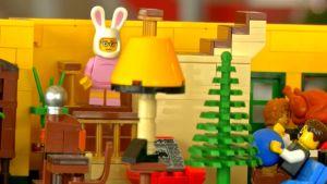 Lego Fan Recreates 'A Christmas Story' House