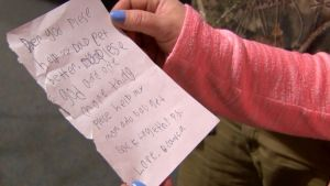Child's Letter to God Inspires Prayers