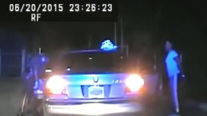 Dash Camera Video Shows Roadside Cavity Search