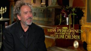 Tim Burton on Miss Peregrine's Home for Peculiar Children