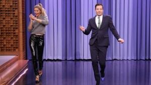 'Tonight': Gisele Teaches Fallon How to Catwalk