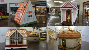 Custom Crafted Playhouses Up for Raffle This Weekend
