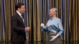 'Tonight': Fallon Plays 'Rock, Paper, Scissors' With a Robot