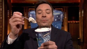 'Tonight': Jimmy Fallon Debuts New Ben and Jerry's Flavor