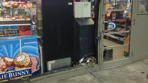 Dallas Police Investigate Attempted ATM Theft