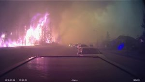 Horrific Wildfire Grows Out of Control in Canada
