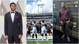 Chadwick Boseman, Sterling K. Brown Support NFL Players