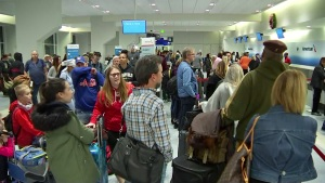 North Texas Holiday Travelers Stranded at Airports