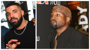Kanye Reignites Drake Feud on Twitter, Alleges Threats