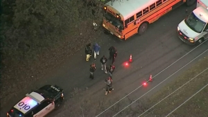 Fort Worth ISD School Bus Involved in Crash