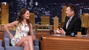 'Tonight': Say Anything with Katie Holmes