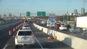 I-35W Construction Nearly Complete