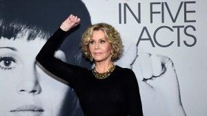 Jane Fonda Arrested in Climate Change Protest