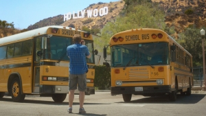 School Buses Fall in Love in Music Video Ahead of Valentine's Day