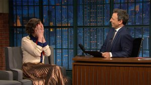 'Late Night': Kristen Schaal 'Blinded' Herself for Beauty