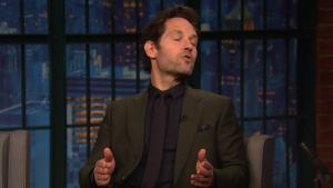 'Late Night': Paul Rudd Reveals Details About 'Ant-Man and the Wasp'