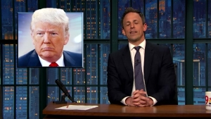 'Late Night' Closer Look at Trump's Nominee Status