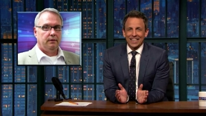 'Late Night' Look at Trump, White Nationalists