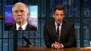 'Late Night': A Look at Trump Confirmation Hearings