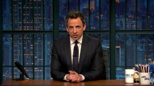 'Late Night': A Couple Things About Trump and Russia