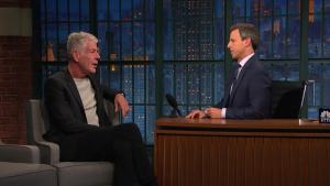 'Late Night': Bourdain's Dicey 'Parts Unknown' Shoots