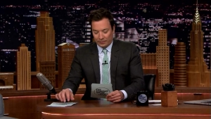 'Tonight': Fallon Reads Tweets Containing Dad Quotes