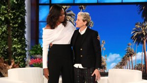 Michelle Obama Joins Ellen for First Post-WH Interview