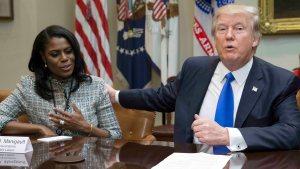 Omarosa's Back, Charges Trump Showed Signs of Mental Decline