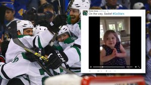 Cute Tweet Goes Viral After Stars' Game 4 Win