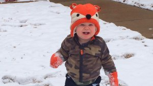 Playing in the Snow - February 27, 2015
