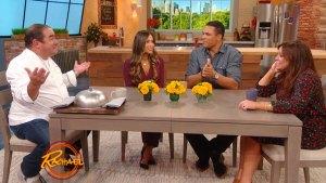 Rachael Puts Tony Gonzalez's Tastebuds To The Test