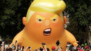 British 'Baby Trump' Blimp Is Coming to America