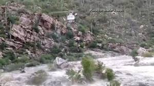 Arizona Hikers Rescued