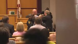 Fight Breaks Out in Alabama Courtroom