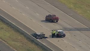Woman, Child Dead After Loop 820 Crash