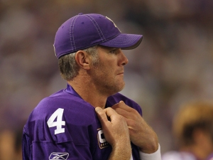 Video: Brett Favre's Groin + Football = Comedy Gold