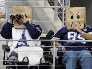 "Fans' Response To Cowboys' Loss: ""Let's Go Rangers"""