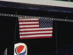 Boo-Birds Prevail, Flag Erected in Cowboys Stadium