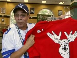 Cowboys Fans Climb Aboard Rangers Gear Bandwagon