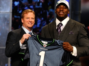 Seahawks Take Texas' Thomas, OSU's Okung