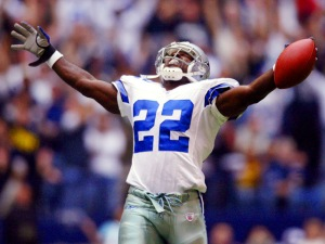Emmitt Smith Enshrined In Canton