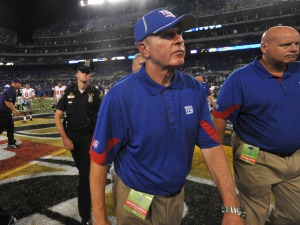 "Giants' Coughlin: ""I Feel Very Badly For Wade"""